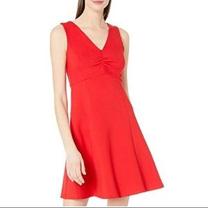 Kate Spade V-Neck Red Mini Dress